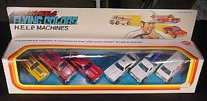 Hot Wheels Gift Set 1975 HELP Machines