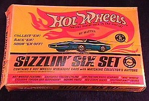 Hot Wheels Redline Sizzlin Six set