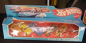 Hot Wheels Redline 1976 Streak Machines