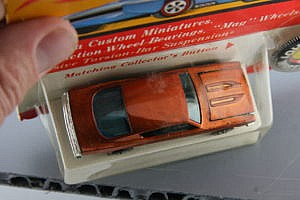 HOt Wheels Redline Custom Barracuda Orange