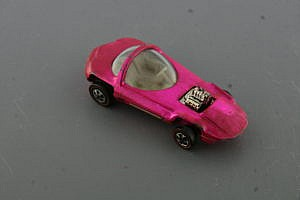 Hot Wheels Redline Silhouette pink