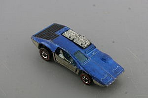 Hot Wheels Redline Side Kick Blue
