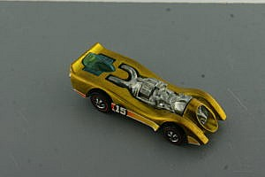 Hot Wheels Jet Threat GOLD