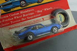 Hot Wheels Redline Olds 442 Blue