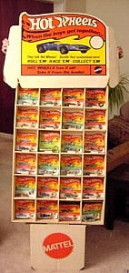 Hot Wheels Redline 1969 Store Display