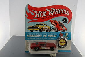Hot Wheels wanted Mongoose