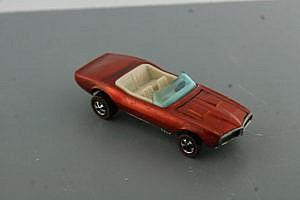 Hot Wheels Redline Custom Firebird orange