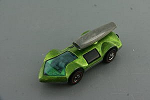 Hot Wheels Redline Rocket Bye Baby Light Green